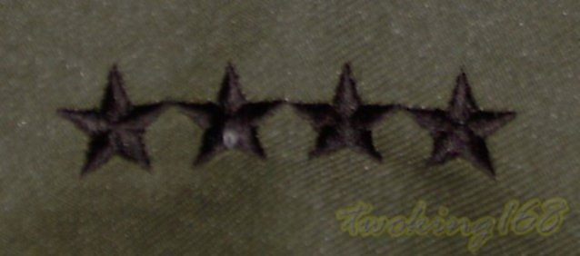 美軍上將領章12-20-15☆ 美國 陸軍 叢林迷彩 迷彩服 早期 低視度 野戰服