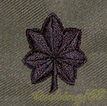 @二王軍警用品@美軍中校領章/★美國 陸軍 叢林迷彩 迷彩服 早期 低視度 野戰服