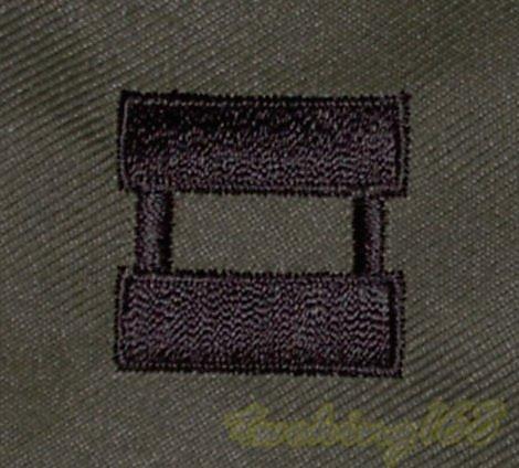 美軍上尉領章/12-20-10 美國 陸軍 叢林迷彩 迷彩服 早期 低視度