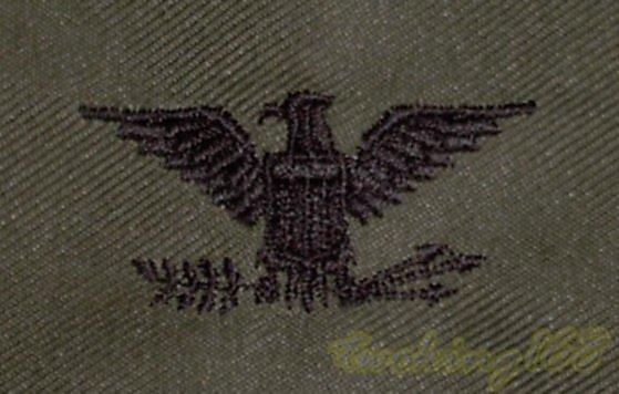 美軍上校領章/☆★美國 陸軍 叢林迷彩 迷彩服 早期 低視度