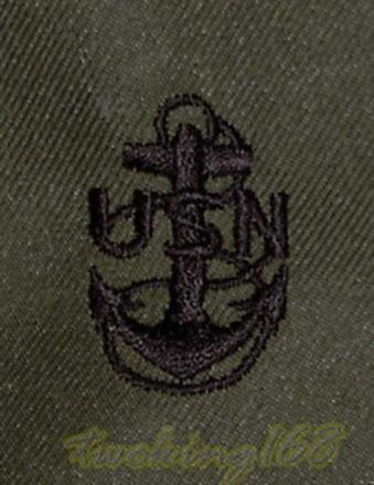 美軍海軍士官長領章/美軍領章12-20-16☆美國 叢林迷彩 迷彩服 早期 低視度
