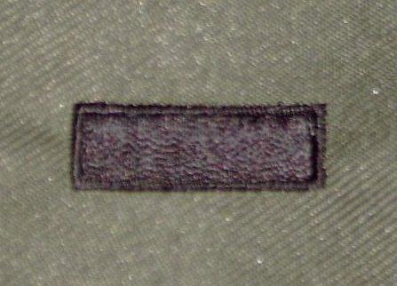 美軍中尉領章 12-20-9☆美國 陸軍 叢林迷彩 迷彩服 早期 低視度