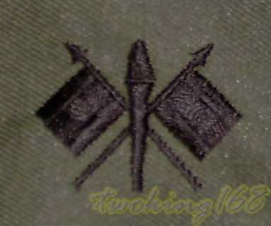 @社@美軍通信領章/☆★美國 陸軍 叢林迷彩 迷彩服 早期