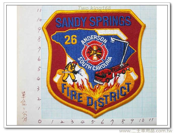 南卡萊納消防局-國外130-28