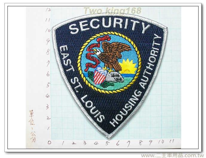 美國聖路易士執法部門(銀色邊)-國外314
