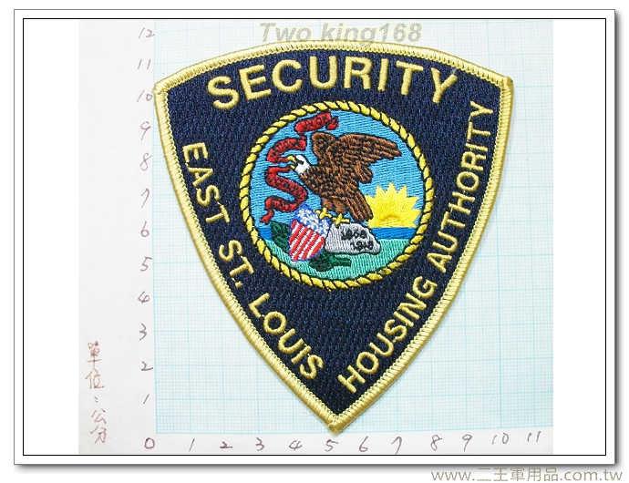 美國聖路易士執法部門(金色邊)-國外314