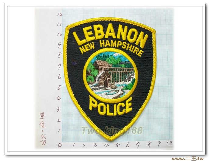 新羅布什爾州黎巴嫩警察130-1