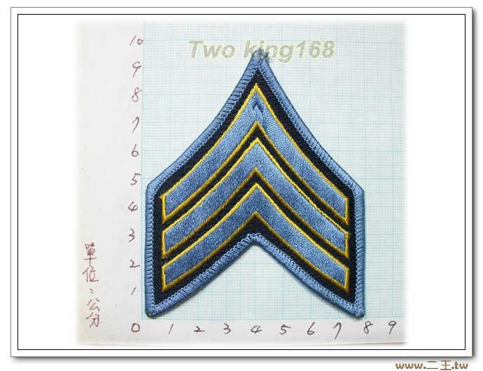 美國警察階級臂章-臺灣製造外銷美國臂章數量有限值得珍藏-國外3-9