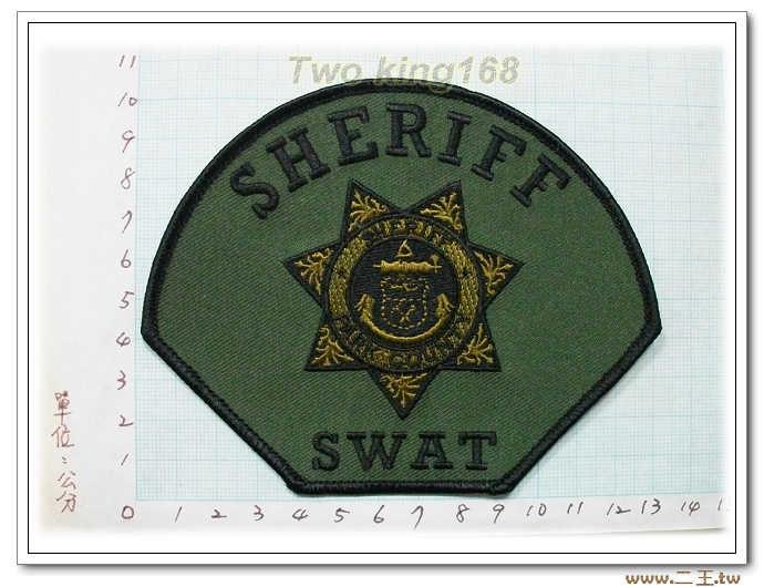 國外125-美國帕克郡保安官特警隊