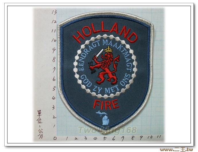 荷蘭消防臂章10-57