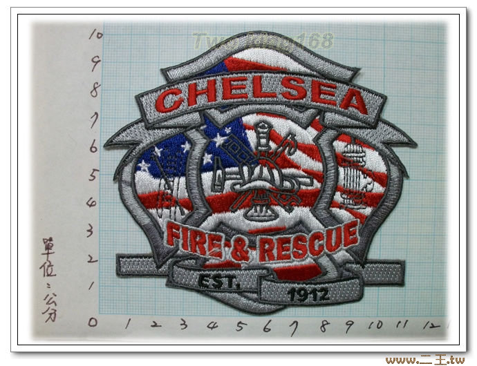 切爾西消防隊臂章10-59