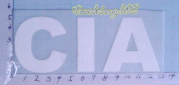 ~二王軍警用品社~美國國安局CIA熨斗貼~可以直接燙印在衣服上☆★電繡臂章☆★刺繡臂章☆★識別章☆★軍用品