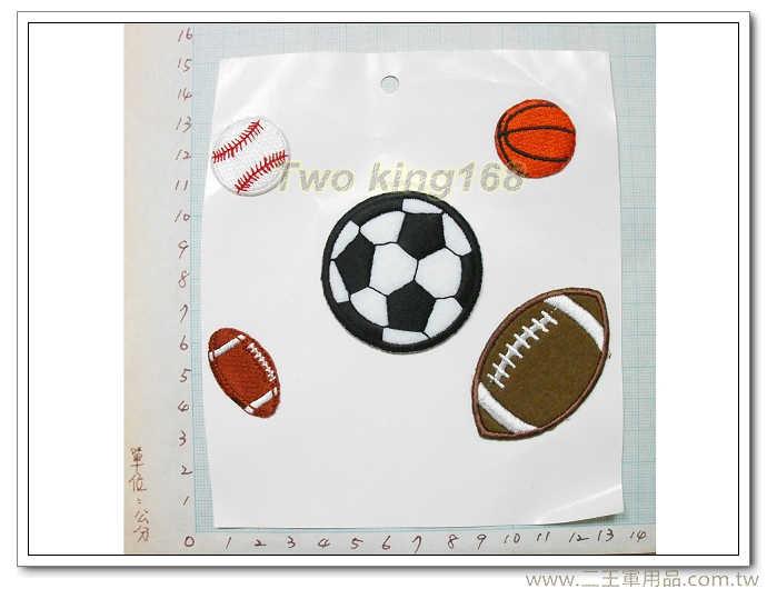 球類運動臂章(燙印)-國外145
