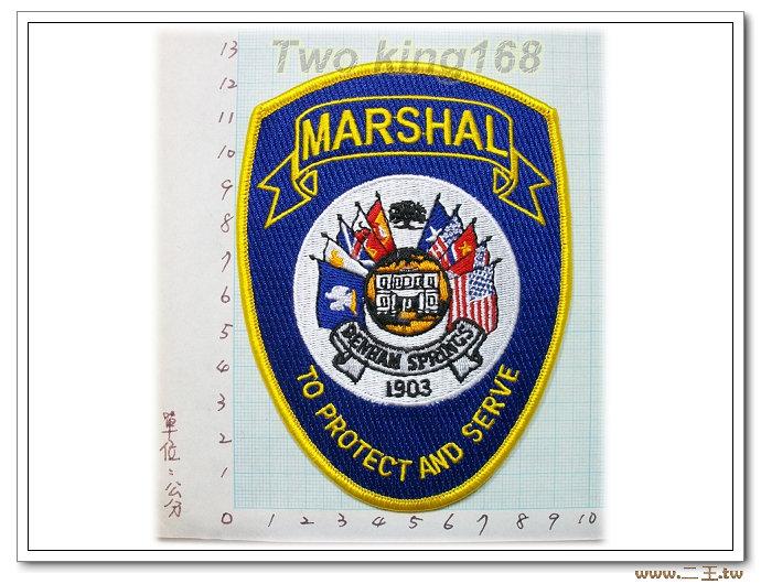美國聯邦法警-國外77-台灣製造外銷國外臂章.數量有限值得珍藏