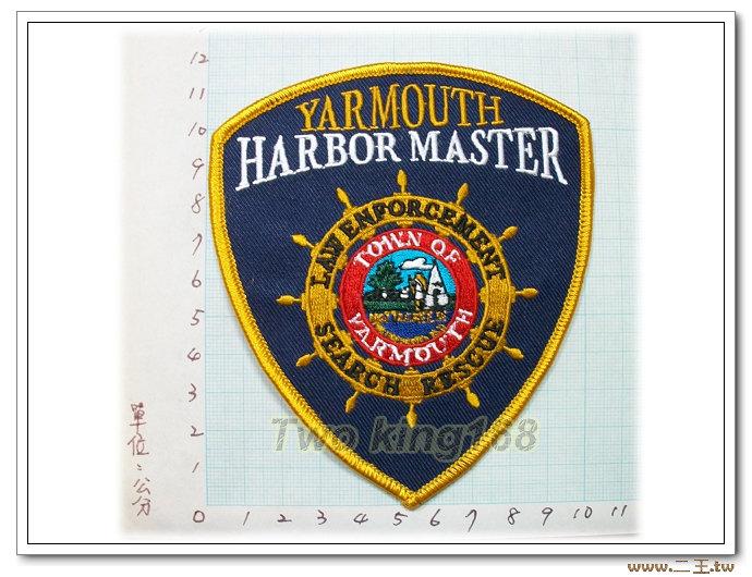 YARMOUTH執法部門-國外67-台灣製造外銷國外臂章.數量有限值得珍藏