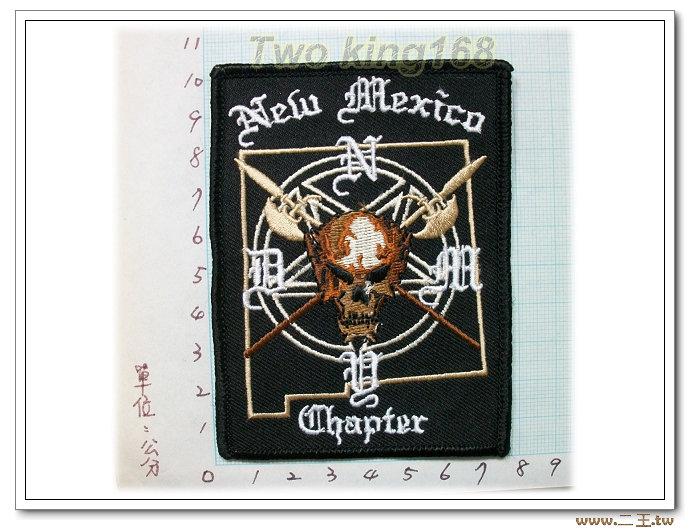 新墨西哥洲教士-國外106-台灣製造外銷國外臂章.數量有限值得珍藏