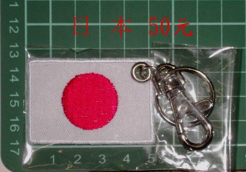 ★☆ 日本國旗臂張鑰匙圈 (21-2) ☆