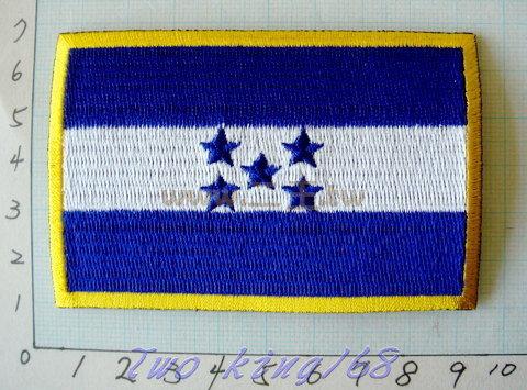 ☆★  ★☆ 宏都拉斯國旗臂章 ☆★ Honduras