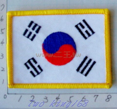 ☆★  ★☆ 韓國 國旗 臂章 ☆ 南韓