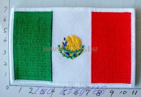 ☆★  ★ 墨西哥國旗臂章 ☆★ Mexico