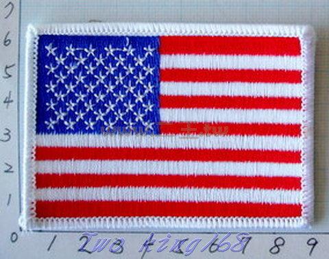☆★  ★☆ 美國國旗臂章(6x9)