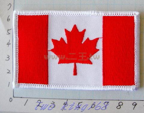 ☆★  ★☆ 加拿大國旗 臂章 ☆★