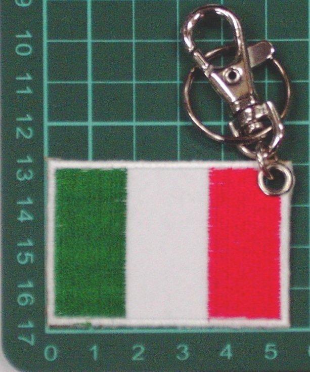 ☆★  ★義大利國旗臂章鑰匙圈 (21-1) ☆