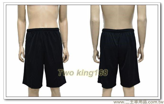 黑色排汗運動短褲【D120-6】