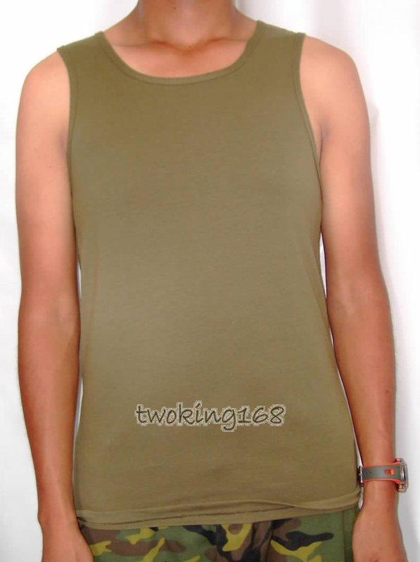 ★☆軍綠背心(挖背式)★運動服★ 陸軍 汗衫