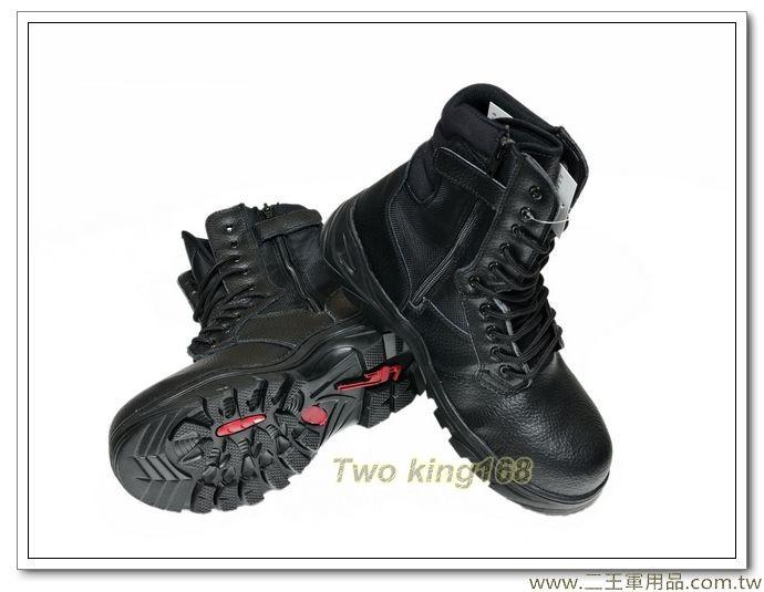 黑色鋼頭工作鞋(登山鞋) (鞋底有鐵片)#鋼頭鞋