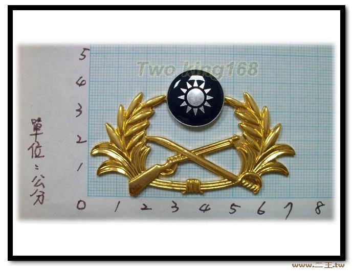 特大版陸軍軍徽(鋁質) bg1-2★☆陸軍☆徽章