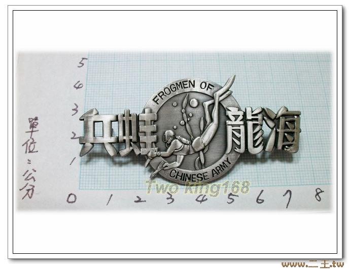 海龍蛙兵胸章(銅質)ba14-1 陸軍101兩棲偵察營 國軍 軍裝☆陸軍★