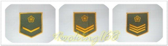 ★☆陸軍軍便服階級臂章二兵/一兵/上兵★ 軍裝☆陸軍★軍便服 軍常服 外套 夾克