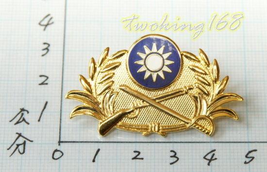 ★☆陸軍徽榮譽徽 (30年 金色)ba1-3★國軍 軍裝☆陸軍★軍便服 軍常服