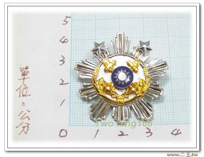海軍士官十年年資徽(二星) bn3-2 國軍 軍裝☆海軍★軍便服 軍常服