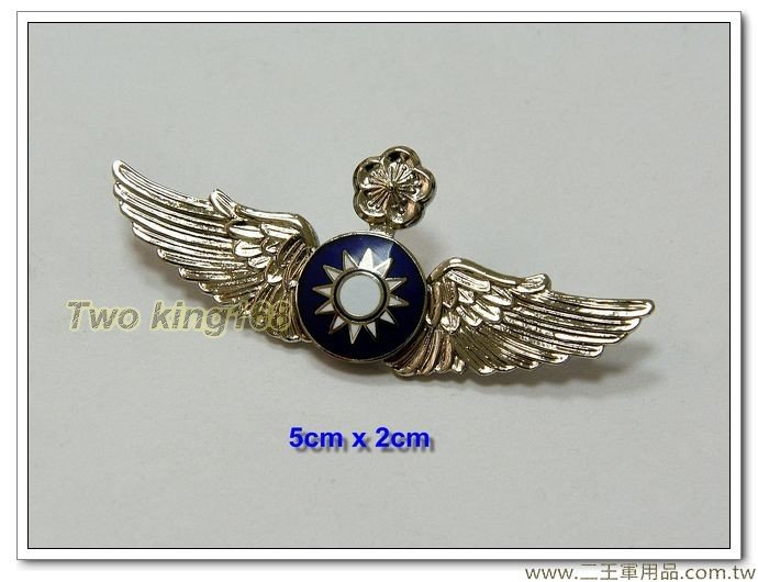 空軍資深級飛行徽章(銅質中型)(軍便服專用)-飛行胸章【bf11-5】120元