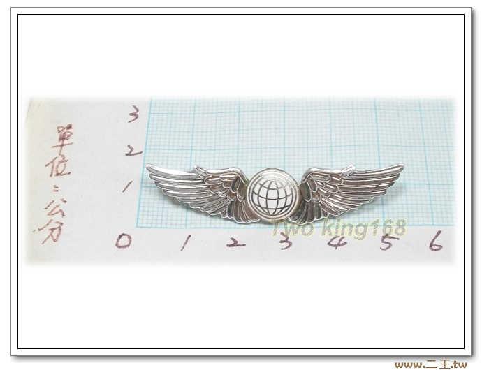 空軍領航初級飛行胸章(小)(鋁質) BF10-1★國軍 軍裝☆軍便服 軍常服