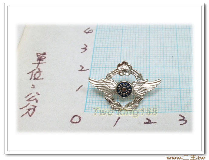 ★☆空軍軍徽胸章(小型銅質)bf8-2★國軍