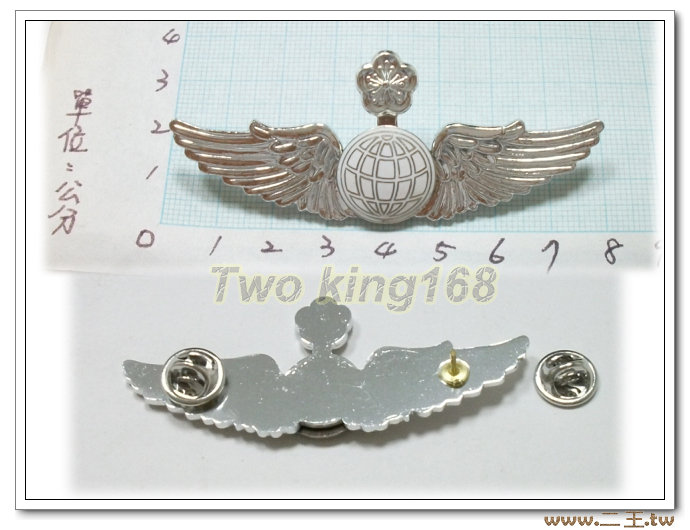 ★☆空軍領航資深級飛行胸章(鋁質) bf6-5★國軍 軍裝☆軍便服 軍常服