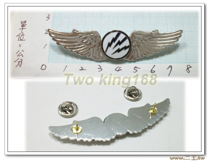 ★☆空軍電信初級飛行胸章(鋁質)bf7-6★★國軍 軍裝☆軍便服 軍常服