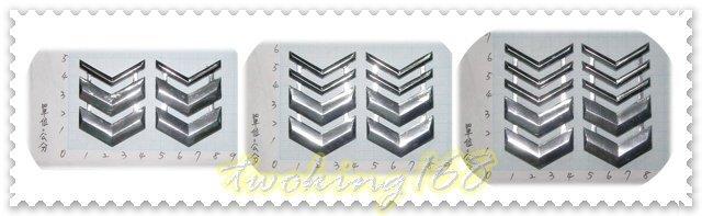 ★☆空軍士官長金屬肩章 三等/二等/一等★國軍 軍裝☆ 軍常服 外套 夾克