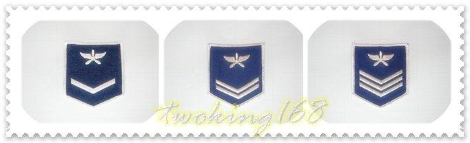 ★☆空軍士兵軍便服臂章 二兵/一兵/上兵★★國軍 軍裝☆軍便服 軍常服