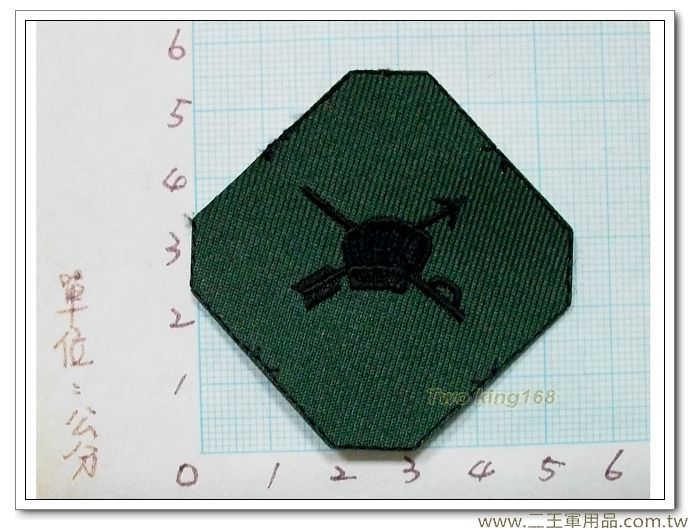 國軍數位迷彩服領章-新式布領章-軍用領章-行政-5元