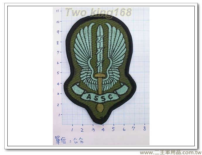 ★陸軍涼山特勤隊臂章4-3-2(低視度) 迷彩服