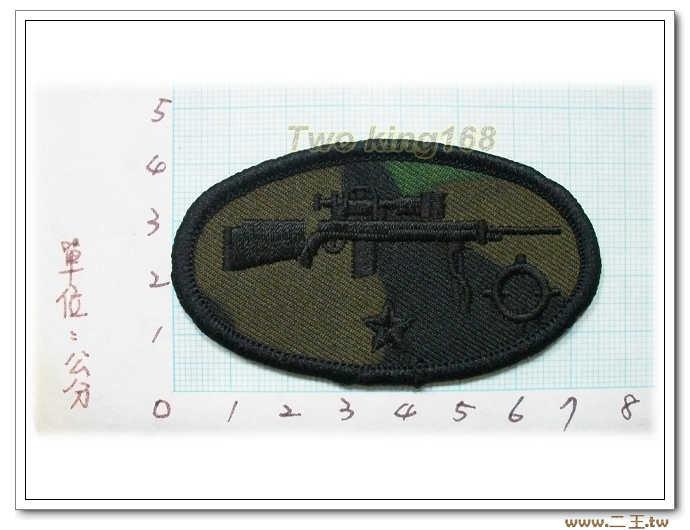 11-9步兵學校突擊手訓練完訓胸章(1星) 迷彩服 野戰服