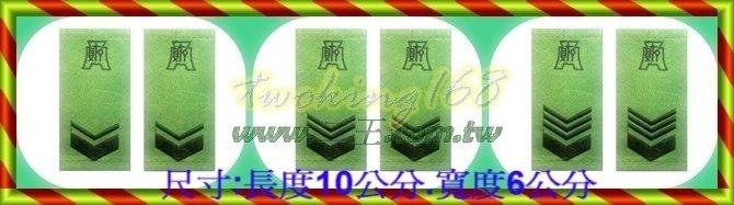 防寒迷彩夾克階級肩章-軍用階級系列-財務☆★肩章☆★軍用品