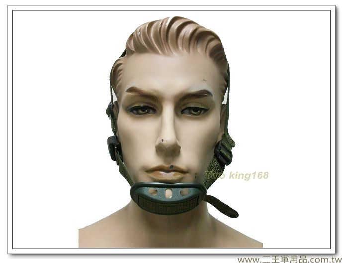 海軍陸戰隊鋼盔扣-海陸三點式(功夫龍)-帽帶 下巴帶 頭盔帶 鋼盔