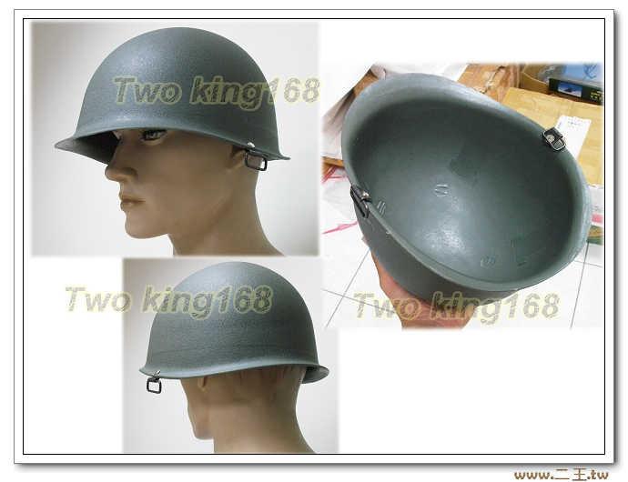 ★M1造型膠盔 (國軍 陸軍 早期 鋼盔 草綠服