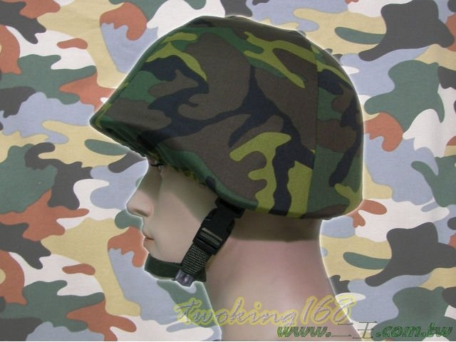 ★☆陸軍迷彩偽裝帽(鬆緊式)★☆鋼盔★功夫龍★偽裝帽★☆陸軍 盔布 國軍 凱夫勒 功夫龍 M88