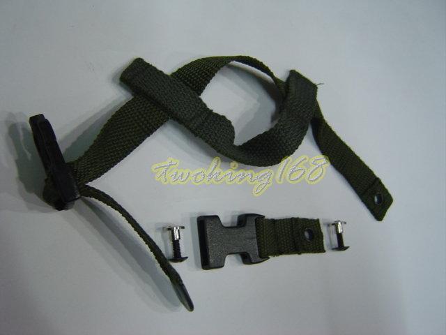 ★☆功夫龍鋼盔扣組(含2組螺絲)★ 凱夫勒 功夫龍 M88 鋼盔